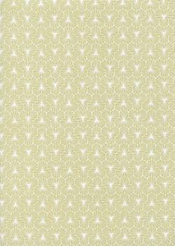 Alienor vert et blanc (50x70)