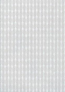 Gabrielle gris et blanc (50x70)