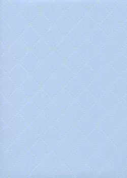 """Simili cuir """"Diamond"""" bleu ciel"""