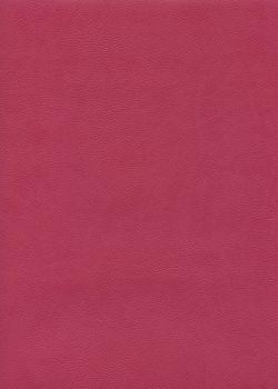 "Simili cuir ""Buffalo"" framboise (70x100)"