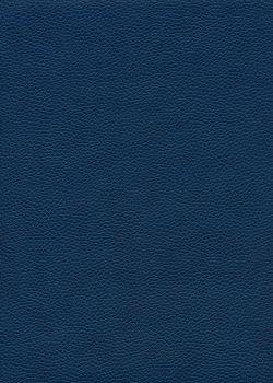 """Simili cuir """"Buffle grainé"""" bleu marine (70x100)"""