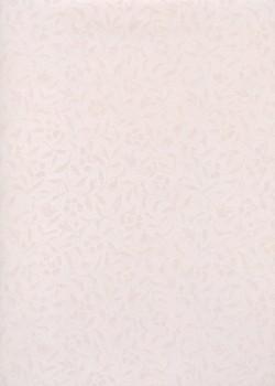 """Papier japonais-""""Sukashi floral"""" rose motif translucide (55x79)"""