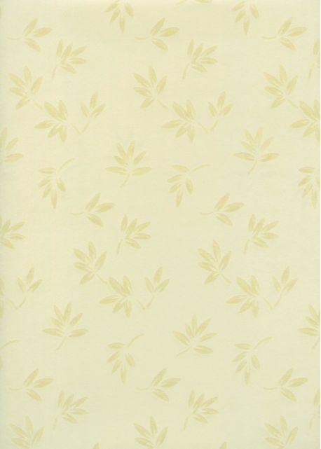 """Papier japonais-""""Sukashi bambou"""" jaune motif translucide (55x79)"""