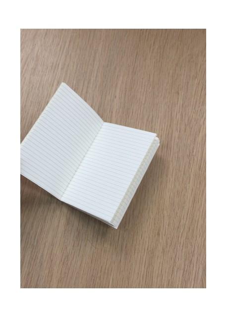 Carnet à lignes ivoire 7x10.5 cm (48pages)