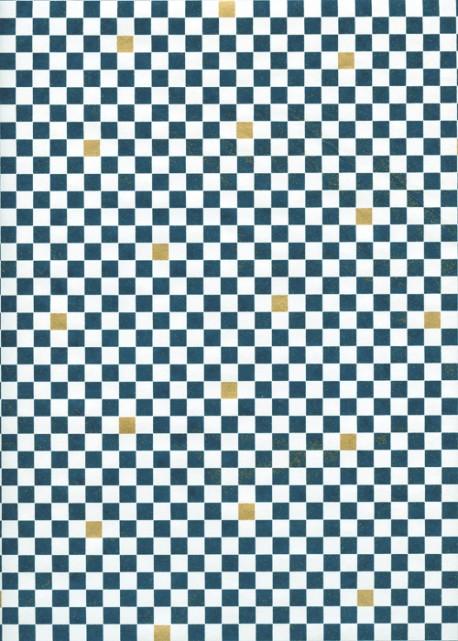 Véritable Yuzen (52x65.5) N°62 bleu
