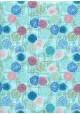 Véritable Yuzen (52x65.5) N°59 turquoise