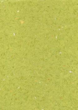Véritable Obonai vert réhaussé or et argent (78x54)