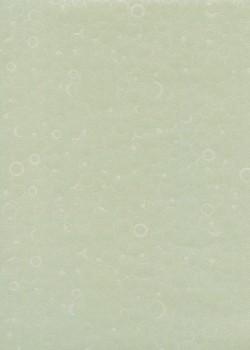 Papier japonais bulles nacrées fond gris (55x80)