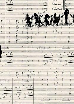 Musique noire et orchestre (70x100)