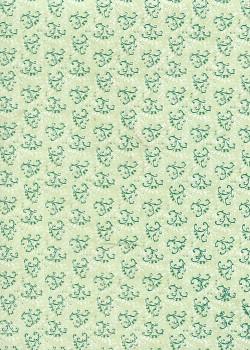 Lokta les arabesques ton vert (50x75)