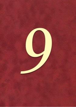 """Chiffre """"8"""" romantique (H:3.8cm L:2.6cm)"""