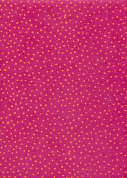 Lokta plumetis fushia et orange (50x75)