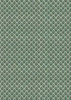 Semis de petites fleurs vertes (70x100)