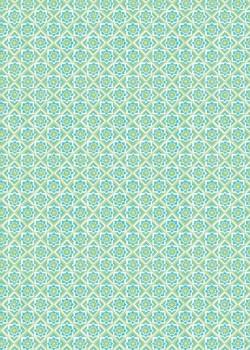 """""""Mosaïque"""" vert tendre (70x100)"""