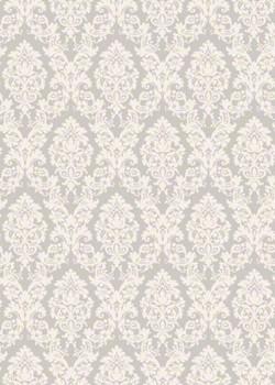"""""""Tapisserie"""" motif baroque fond gris (70x100)"""