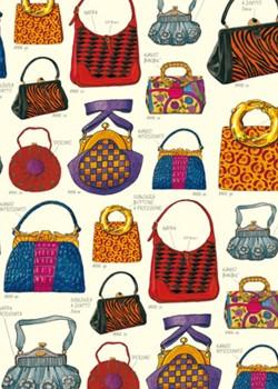Les sacs à mains réhaussés d'or (70x100)