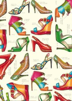 Les chaussures rehaussées d'or (70x100)*