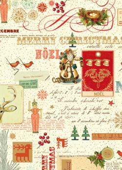 NOEL EN ROUGE Méli-mélo sur Noël (70x100)