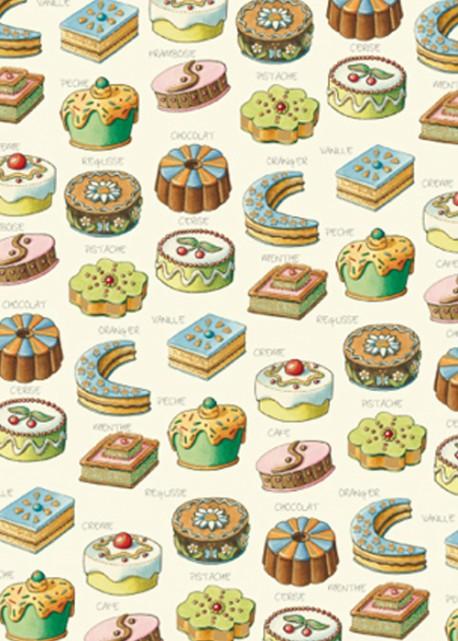 Les mignardises et chocolats réhaussés or (70x100)
