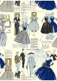La mode parisienne ton bleu (70x100)