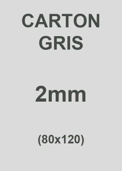 Carton gris 2mm (76X106)