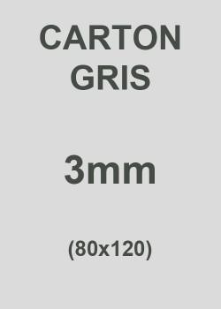 Carton gris 3mm (76X106)