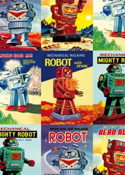 Collection de robots (70x100)