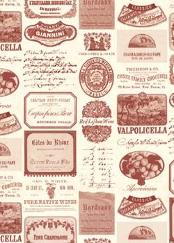 Etiquettes des vins du monde (70x100)