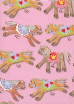 Les petits chevaux rigolos (68x98)*