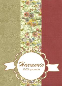 HARMONIE TRIO Japonais floral tilleul