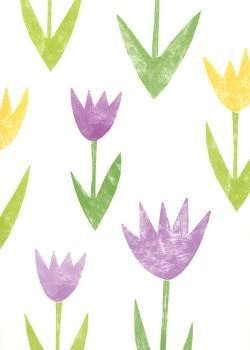 Les tulipes acidulés (68x98)*