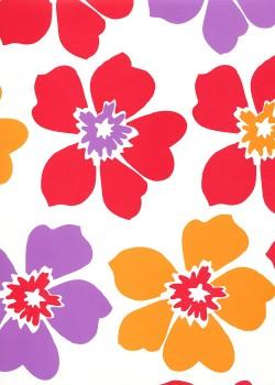 Les fleurs stylisées (65x95)*