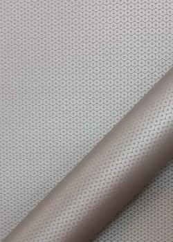 """Simili cuir """"Sphérique"""" taupe (70x100)"""