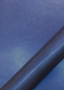 "Simili cuir ""Lizard"" bleu (70x100)"