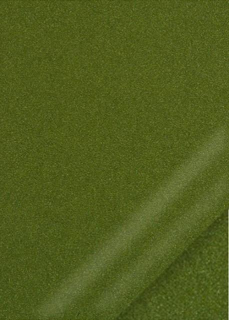 "Simili cuir ""Ariane"" vert bronze (70x100)"