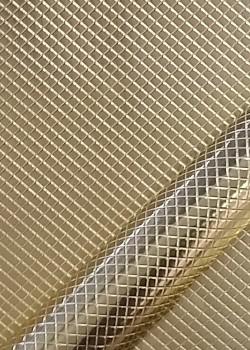 """Papier """"grain nid d'abeille"""" doré (70x100)"""