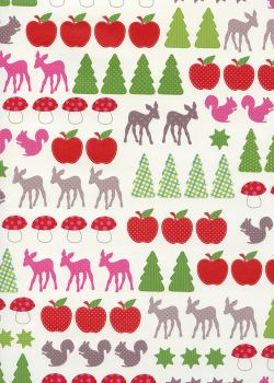 NOEL EN BLANC sujets de Noël (70x100)*