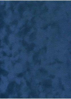 Simili cuir velours Zeste bleu drapeau (70x100)