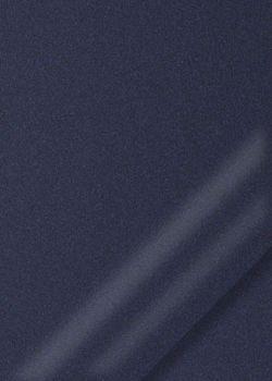 """Simili cuir """"effet nacré"""" bleu nuit (70x106)"""