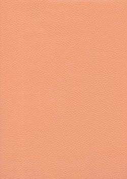 """Simili cuir """"Capra"""" pêche - Grand format (70x106)"""