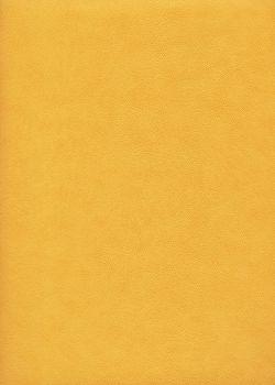 """Papier imitation cuir """"effet poudré"""" jaune soleil (50X65)*"""