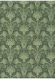 Bouquet oriental vert (50x70)