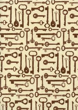 Les clés anciennes (50x70)