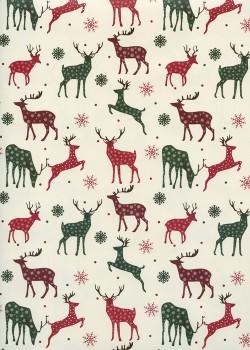 Les rennes de Noël (70x100)