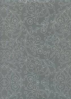 Damasco gris et argent (70x100)