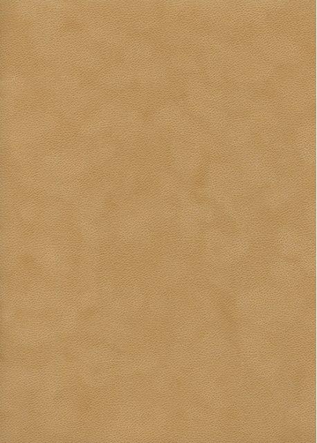 Simili cuir velours Zeste jaune safran (70x100)