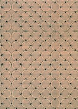 """""""Médina"""" anneaux ton sable (70x100)"""