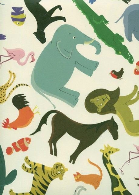 Le pêle-mêle des animaux (70x100)