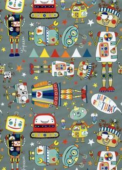 Le petit monde des robots (50x70)