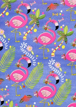 Les flamants roses (50x70)